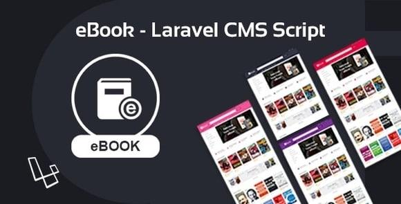 eBook Laravel CMS Script - PDF Books Website PHP Script