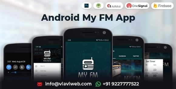 Android My FM App - Live Streaming App Source Code