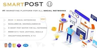 Smart Post - Social Marketing Tool Nulled PHP Script