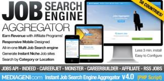 Instant Job Search Engine Aggregator Nulled