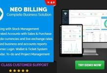 Neo Billing Accounting Invoicing And CRM Software Nulled Script