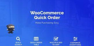 WooCommerce B2B Quick Order WordPress Plugin