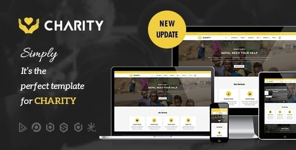 Charity Nonprofit Fundraising Joomla Template Download