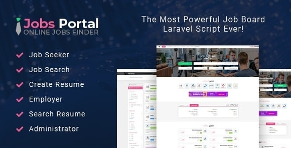 Jobs Portal Job Board Laravel Script Nulled
