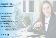 LawOffice Case Management System for Lawyer Website Software