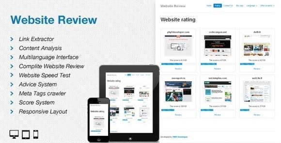 Website Review Codecanyon Nulled Script
