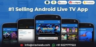Android Live TV Streaming Movies Web Series TV Shows App Source Code