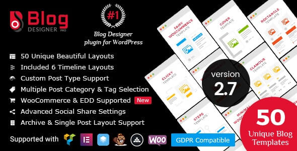 Blog Designer PRO for WordPress Plugin Download