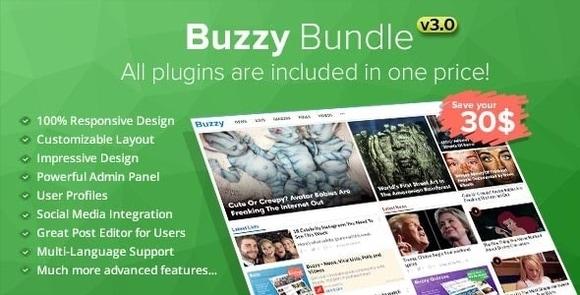 Buzzy Bundle Viral Media Script Nulled Download