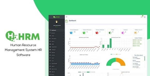 HR Manager Human Resource Management System HR Software (HRMS) Nulled Download