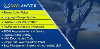 MyLawyer Dynamic Lawyer Directory System Script Nulled
