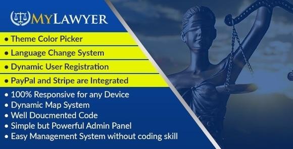 MyLawyer Dynamic Lawyer Directory System Script Nulled