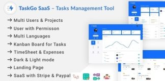 TaskGo SaaS Tasks Management Tool Nulled Script