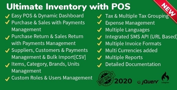 Ultimate Inventory with POS Nulled Download