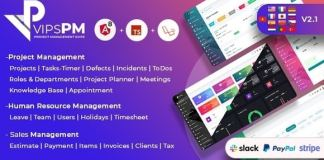 VipsPM Project Management Suite Nulled Download