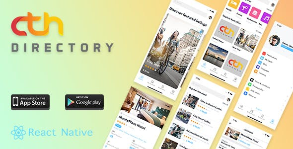 CTH Directory React Native Mobile Apps Source Code