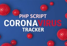 Coronavirus Tracker Realtime Data Vector Map PHP Script