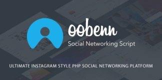 Oobenn Ultimate Instagram Style PHP Social Networking Platform Nulled Script