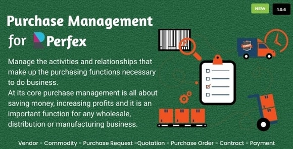 Purchase Management for Perfex CRM Nulled