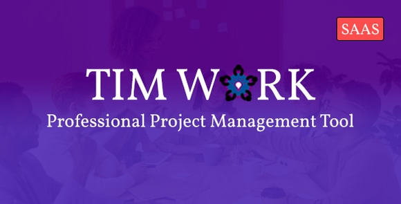 TimWork SaaS Project Management Tool PHP Script