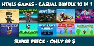 Casual 10 Games Bundle 1 HTML5 Game Download