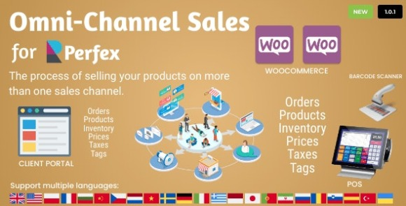 Omni Channel Sales for Perfex CRM Addon Download