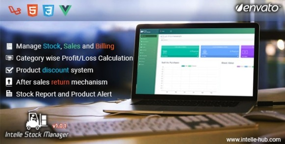 Intelle Stock Manager Project Management Software Download