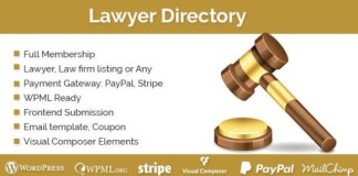Lawyer Directory WordPress Plugin Download