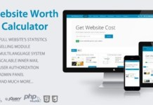 Website Worth Calculator Nulled PHP Script