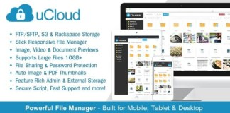 uCloud File Hosting Script Nulled Download
