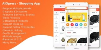 AliXpress App Multi Vendor Shopping App Source Code