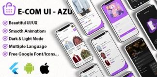 Azul WooCommerce and Shopify Theme Ui Kit