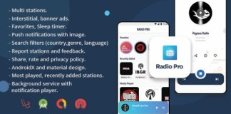 Radio Pro Multi-station Radio App with Admin Panel Source Code