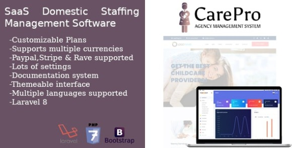 CarePro SaaS Domestic Staffing Agency Management System