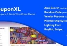 CouponXL Coupons Deals and Discounts WordPress Theme