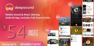 DeepSound Music Sharing Android Application Download