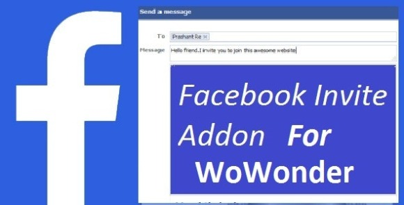 Facebook Invite Addon For WoWonder Download