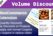 WooCommerce Volume Discount Coupons Plugin