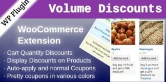 WooCommerce Volume Discount Coupons Plugin