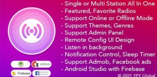 XRadio Best Radio Template For Android App Source Code