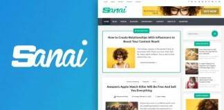 Sanai High Quality Responsive Blogger Template Premium