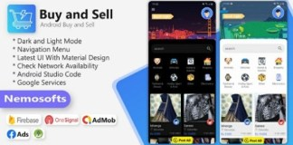Buy and Sell Android Classified App Source Code
