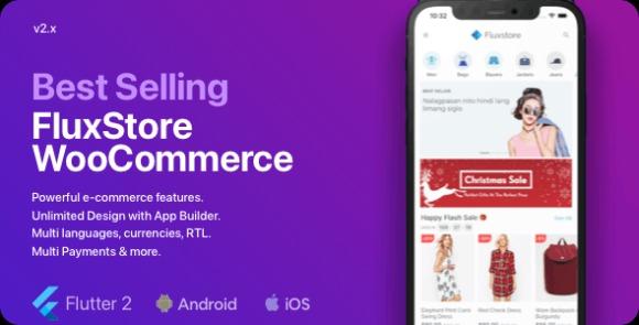 Fluxstore WooCommerce Flutter Ecommerce Full App Source