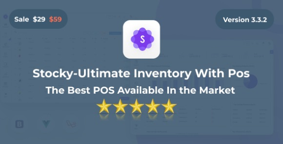 Stocky Ultimate Inventory Management System with POS Codecanyon
