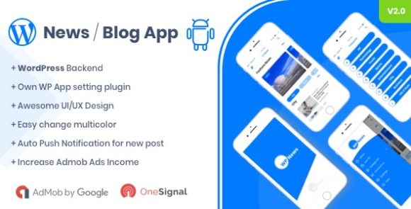 WP News - Native Android App for WordPress Application
