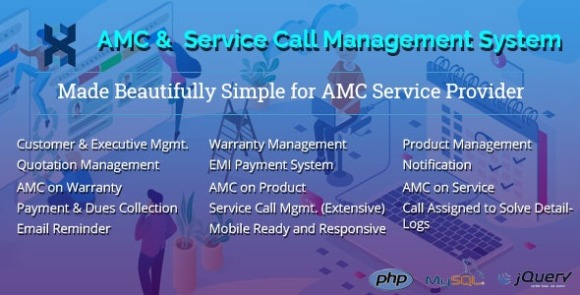 AMC and Customer Service Call Management Application Nulled