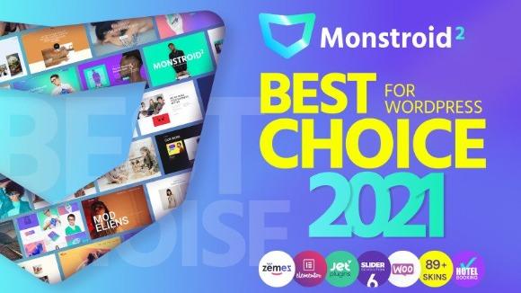 Monstroid2 Multipurpose Modular WordPress Elementor Theme Download