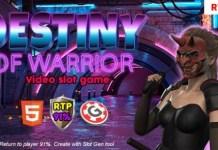 Destiny of Warrior HTML5 Game Source