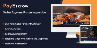 PayEscrow Online Payment Processing Service PHP Script