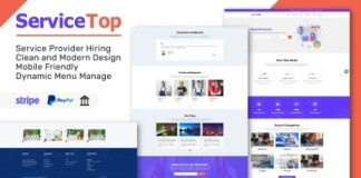 ServiceTop Professional Service Selling Marketplace PHP Script